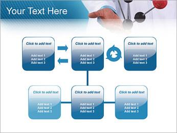 Modèle moléculaire Modèles des présentations  PowerPoint - Diapositives 23
