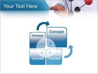 Modèle moléculaire Modèles des présentations  PowerPoint - Diapositives 5