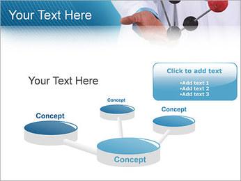 Modèle moléculaire Modèles des présentations  PowerPoint - Diapositives 9
