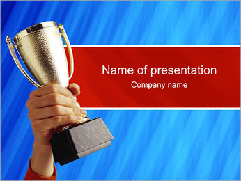 Winner Cup PowerPoint Template