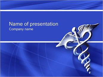 Medicina I pattern delle presentazioni del PowerPoint