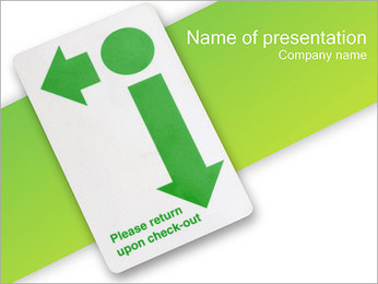 Check PowerPoint Template