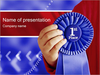 First Place PowerPoint Template