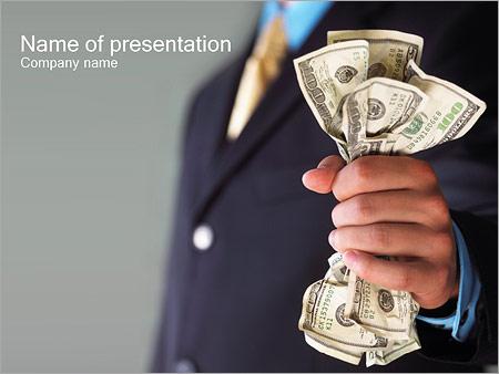 Dinheiro Modelos de apresentações PowerPoint