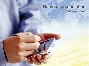 PORTATIV PowerPoint presentationsmallar