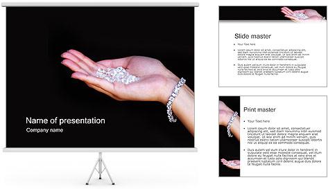 Diamonds PowerPoint Template