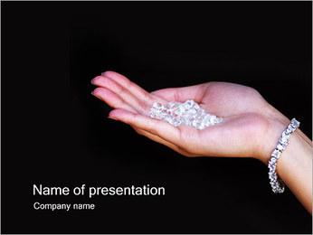 Diamonds PowerPoint Templates - Slide 1