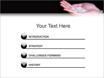 Diamonds PowerPoint Templates - Slide 3