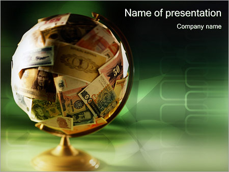 Money globe powerpoint template backgrounds google slides id money globe powerpoint template toneelgroepblik Choice Image