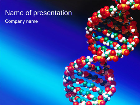 DNA Helix PowerPoint Template