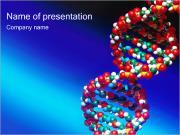 Helix DNA Plantillas de Presentaciones PowerPoint