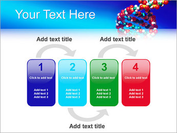 DNA Helix PowerPoint Template - Slide 11