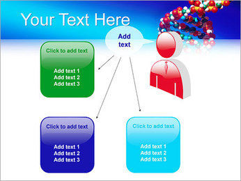 DNA Helix PowerPoint Template - Slide 12