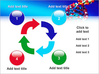 DNA Helix PowerPoint Template - Slide 14
