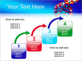 DNA Helix PowerPoint Template - Slide 20