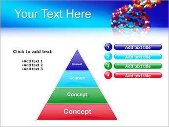 DNA Helix PowerPoint Template - Slide 22