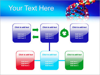 DNA Helix PowerPoint Template - Slide 23