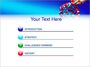 DNA Helix PowerPoint Template - Slide 3