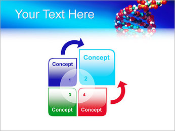 DNA Helix PowerPoint Template - Slide 5