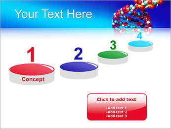 DNA Helix PowerPoint Template - Slide 7