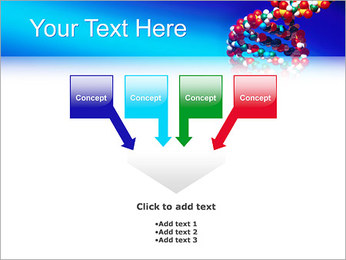 DNA Helix PowerPoint Template - Slide 8