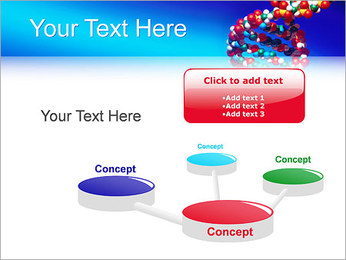 DNA Helix PowerPoint Template - Slide 9