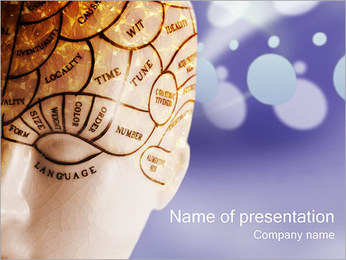 Cerebrophysiology PowerPoint Template