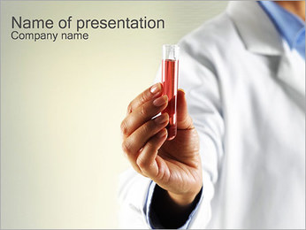 Tests Research PowerPoint Template
