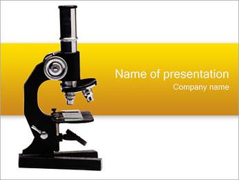 Microscope Modèles des présentations  PowerPoint