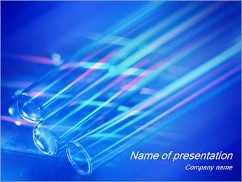 Tubes à essai Modèles des présentations  PowerPoint