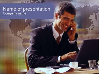 Business Talk PowerPoint Template