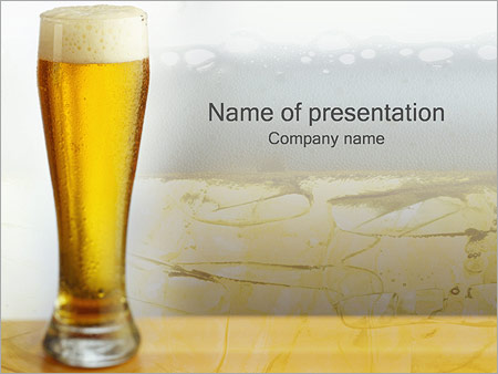 beer powerpoint template backgrounds google slides id