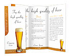Beer Brochure Templates