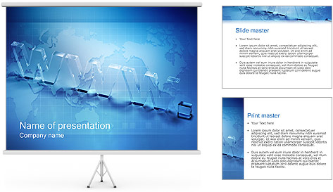 World Wide Web PowerPoint Template