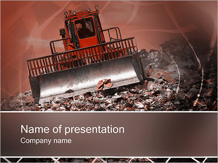 Garbage powerpoint template smiletemplates waste products powerpoint templates toneelgroepblik Images
