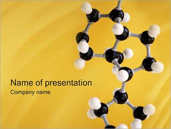Molecular Model PowerPoint Template