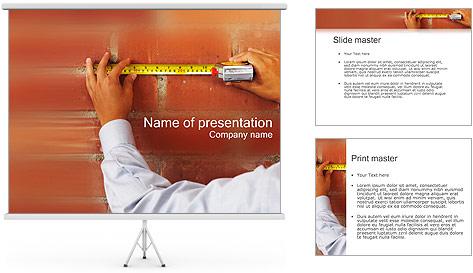 Medindo Modelos de apresentações PowerPoint