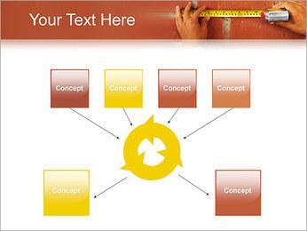 Medindo Modelos de apresentações PowerPoint - Slide 10
