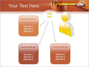 Medindo Modelos de apresentações PowerPoint - Slide 12