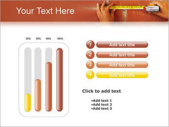 Medindo Modelos de apresentações PowerPoint - Slide 18