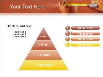 Medindo Modelos de apresentações PowerPoint - Slide 22