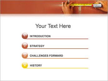 Medindo Modelos de apresentações PowerPoint - Slide 3