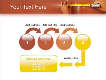 Medindo Modelos de apresentações PowerPoint - Slide 4