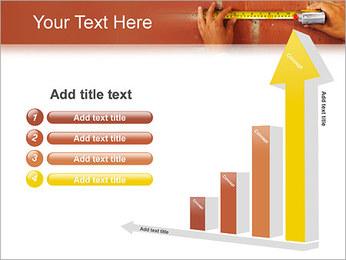Medindo Modelos de apresentações PowerPoint - Slide 6
