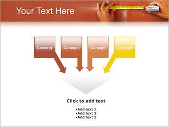 Medindo Modelos de apresentações PowerPoint - Slide 8