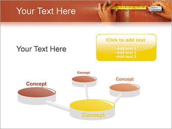 Medindo Modelos de apresentações PowerPoint - Slide 9