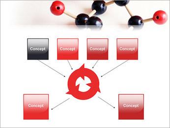 Modèle moléculaire Modèles des présentations  PowerPoint - Diapositives 10