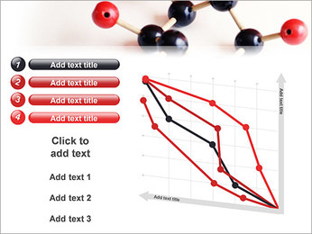 Modèle moléculaire Modèles des présentations  PowerPoint - Diapositives 13
