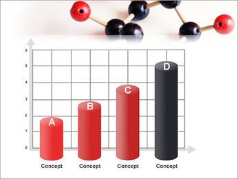 Modèle moléculaire Modèles des présentations  PowerPoint - Diapositives 21