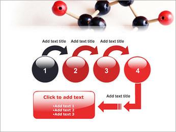Modèle moléculaire Modèles des présentations  PowerPoint - Diapositives 4